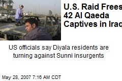 U.S. Raid Frees 42 Al Qaeda Captives in Iraq