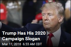 In 2020, Trump Will 'Keep America Great!'