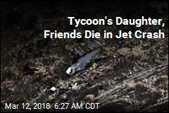 Tycoon's Daughter, Friends Die in Jet Crash