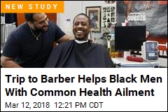 Black Men Trim Blood Pressure in Barbershop Experiment