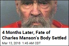 Official Makes Decision on Charles Manson Body