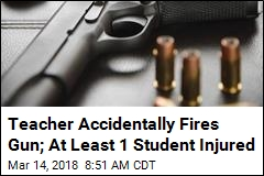 Teacher Accidentally Fires Gun; At Least 1 Student Injured