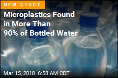 Microplastics Found in More Than 90% of Bottled Water