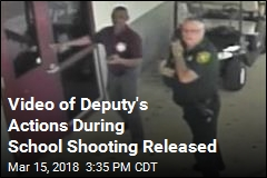 Video Shows Deputy Standing Outside School While Shooting Occurred