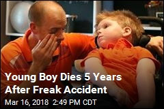 Young Boy Dies 5 Years After Freak Accident