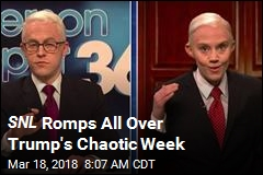 SNL Romps All Over Trump's Chaotic Week