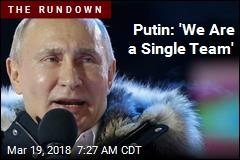 Putin Won in a Very Predictable Landslide