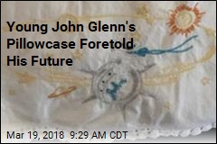 Young John Glenn's Pillowcase Was Heavenly