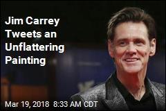 Jim Carrey Tweets an Unflattering Painting
