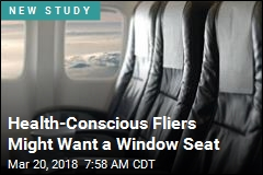 Window Seat May Be Safest Pick to Avoid Catching Germs