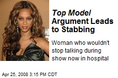 Top Model Argument Leads to Stabbing