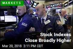 Stock Indexes Close Broadly Higher
