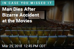 Man Dies After Getting Trapped in Movie Seat