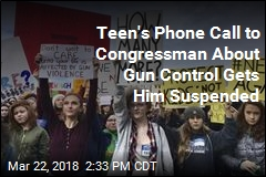 Teen's Language on Phone Call to Congressman Gets Him Suspended