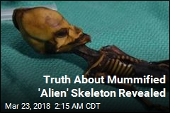 Truth About Mummified 'Alien' Skeleton Revealed