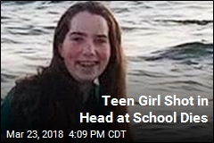 Teen Girl Shot in Head at School Dies