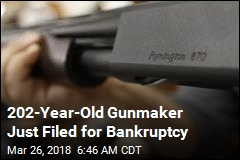 One of the Oldest Gunmakers in US Files for Bankruptcy