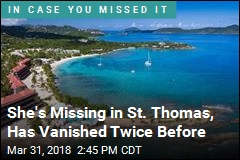 She's Missing in St. Thomas, Has Vanished Twice Before