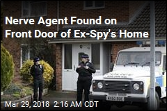 Police: Nerve Agent Was on Front Door of Ex-Spy's Home