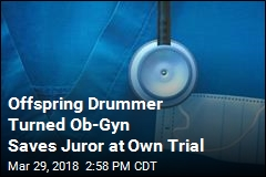 Offspring Drummer Turned Ob-Gyn Saves Juror at Own Trial