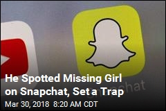 Snapchat User Sets Trap, Finds Missing Teen