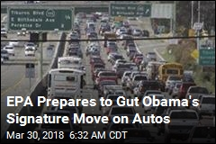 EPA Prepares to Gut Obama's Signature Move on Autos