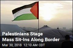 Israel Tank Kills Gaza Man Before Mass Sit-Ins