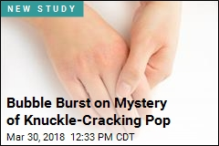 Lots of Numbers Crunched to Solve Knuckle- Cracking Mystery