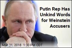 Putin Rep Calls Weinstein Accusers 'Prostitutes'