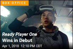 Ready Player One Wins in Debut