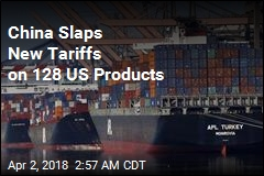 China Slaps New Tariffs on 128 US Products