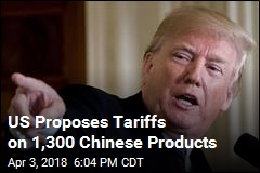 US Proposes Tariffs on 1,300 Chinese Products