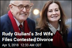 Rudy Giuliani, 3rd Wife Divorcing