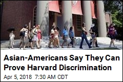 Asian-Americans Say They Can Prove Harvard Discrimination