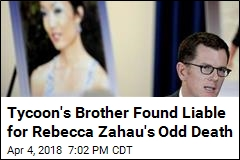 Jurors in Rebecca Zahau Case: Tycoon's Brother Responsible