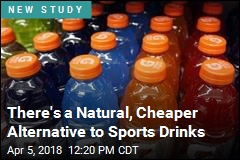 There's a Natural, Cheaper Alternative to Sports Drinks
