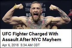 Conor McGregor Charged After Media Event Mayhem