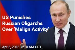 US Punishes Russian Oligarchs Over 'Malign Activity'