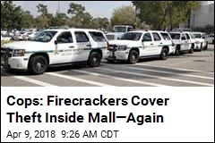 Cops: Firecrackers at Mall Used to Cover Jewelry Theft