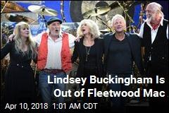 Lindsey Buckingham, Fleetwood Mac Go Their Own Ways