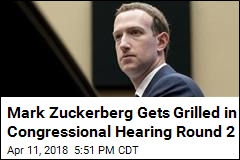 Zuckerberg Faces Tougher Questioning on Day 2