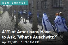41% of Americans Have to Ask, 'What's Auschwitz?'