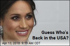 Meghan Markle Is Back Stateside