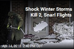 Shock Winter Storms Blast Central US
