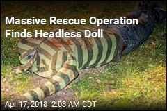 Headless Doll Triggers Massive Rescue Operation