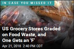 US Grocery Stores Graded on Food Waste, and One Gets an 'F'