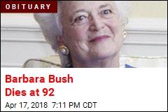 Barbara Bush Is Dead at 92