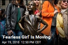 'Fearless Girl' Is Moving