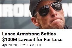 Lance Armstrong Settles $100M Lawsuit for $5M