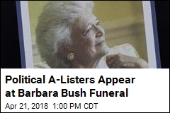Barbara Bush Was 'First Lady of the Greatest Generation'